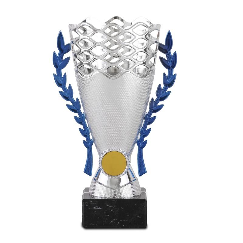 Copa Azul cielo Bailey Plata 21 cm 18,5 cm 16,5 cm