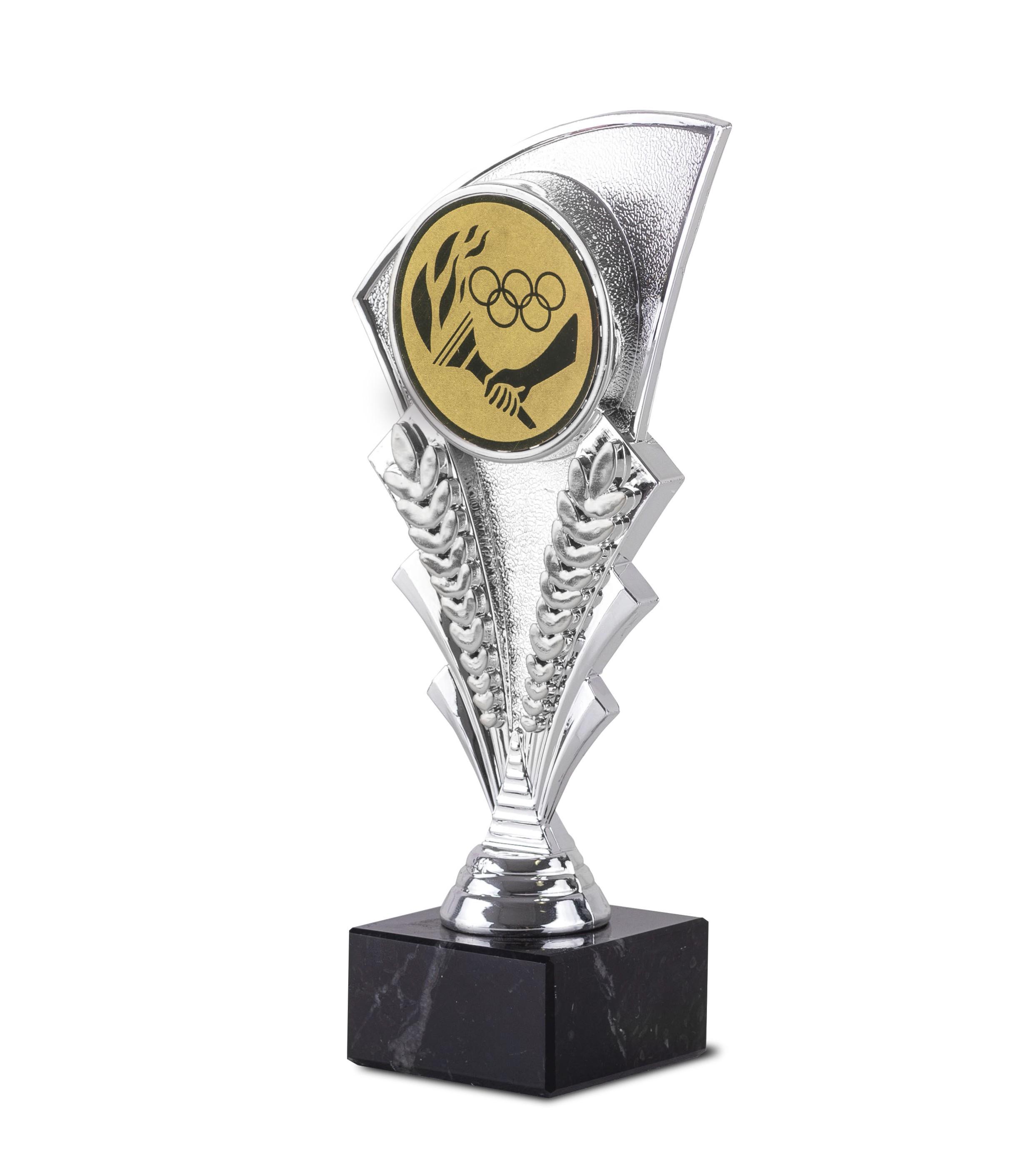 Copa Viesca en plateado Plata oro 19,5 cm