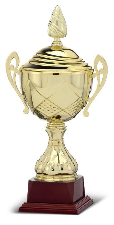 Copa Dorada Chayote con Peana Crema Oro 43,5 cm 160 mm 120 mm 33,5 Cm 100 mm 29 cm 80 mm 25,5 Cm