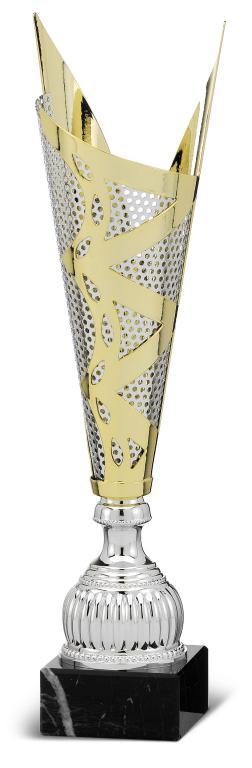 Copa Capuchina Campana Bicolor con Estrellas 46 cm 40,5 cm