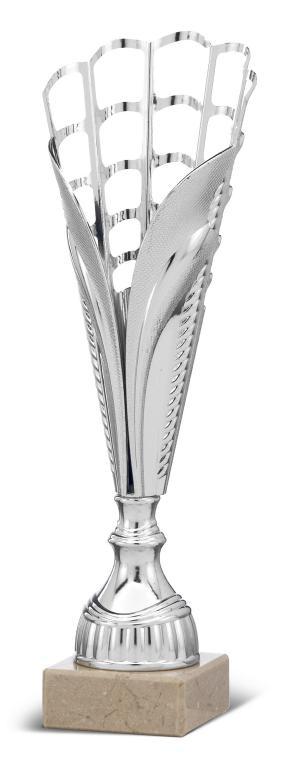 Copa Cooper dorada adorno granate Plata 34,5 cm 33 cm 32 cm