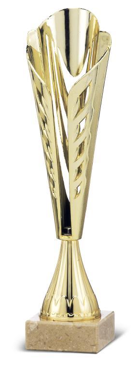 Copa Frontera personalizable Oro 34 cm