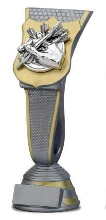 Trofeo con Aplique modelo escudo 23 cm 20,5 Cm 19 cm