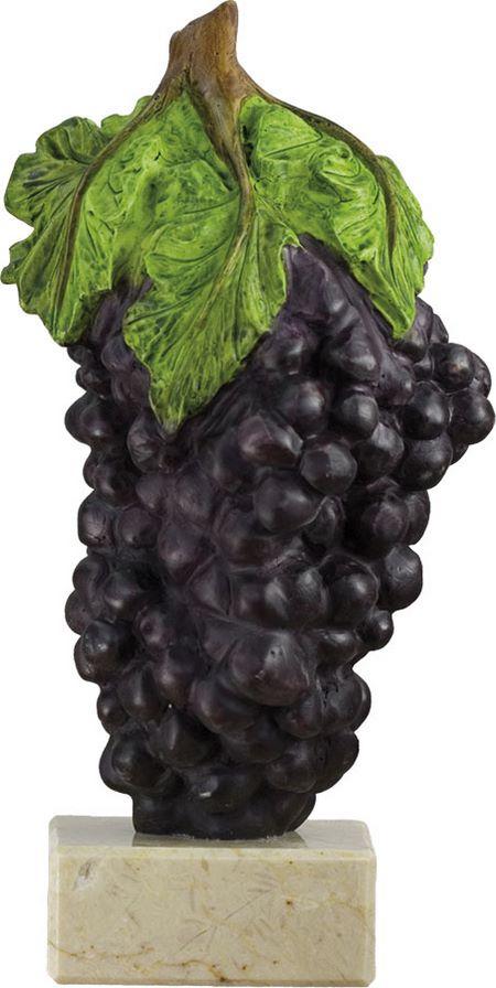 Trofeo uvas de vendimia Uvas Tintas 23 cm