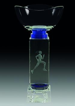 Copa economica cristal. Modelo blas 20 cm 8x5 cm