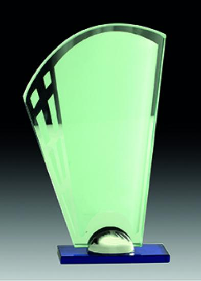 Trofeo Cristal Ibaizábal 10 mm 28x16 cm 10 mm 24x14 cm 10 mm 20x11.5 cm