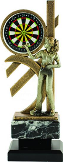 Trofeo Xironda de Dardos 27 cm Femenino 25 cm 23 cm