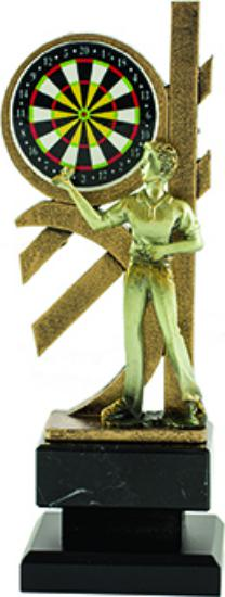 Trofeo Xironda de Dardos 27 cm Masculino 25 cm 23 cm