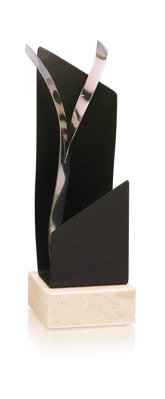 Trofeo Alegorico Trio 24 cm Plata