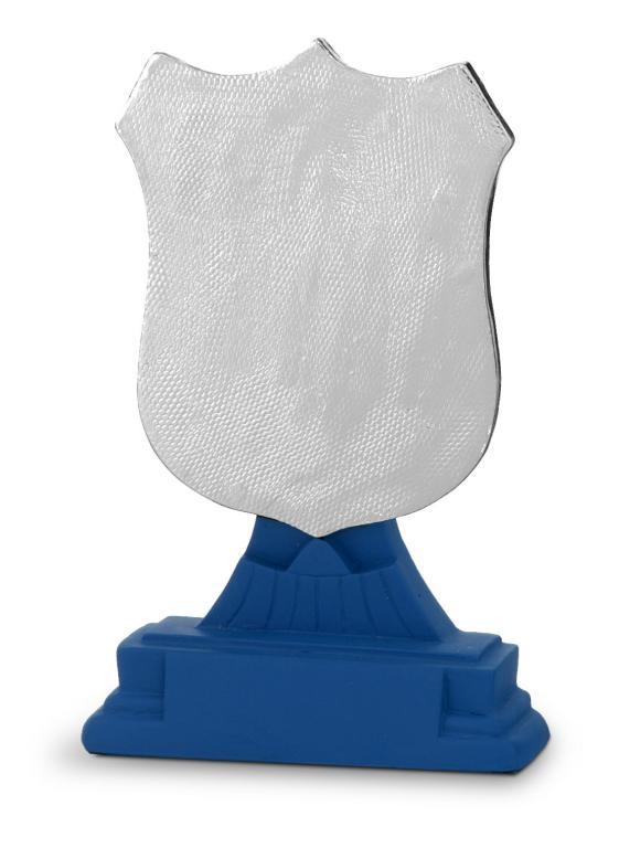 Trofeo Canace Escultura Plata Azul 13,5 cm