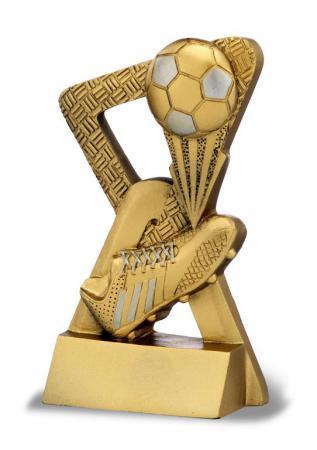 Trofeo bota de futbol oro 11.50 cm