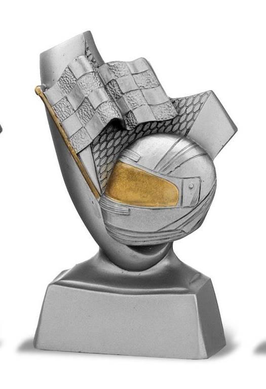 Trofeo competición casco de moto 10 cm