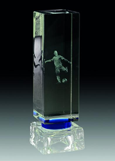 Trofeo Agueda de Cristal 15x5 cm 19 cm 12x5 cm 16 cm 10x5 cm 14 cm 8x5 cm 12 cm