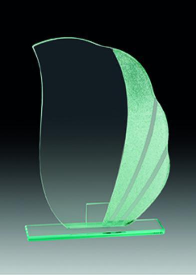 Trofeo Cristal Deva 21x15 cm 18x14 cm 15x13 cm
