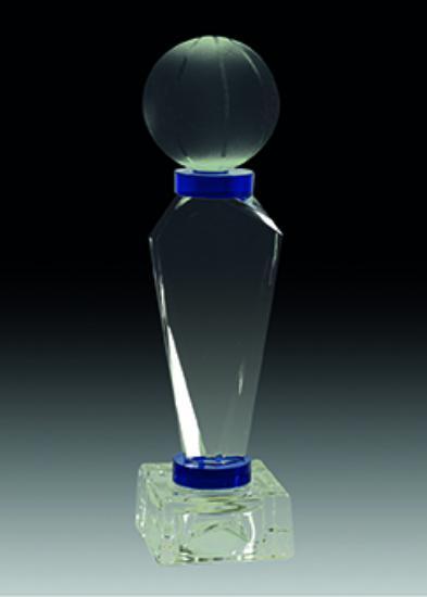 Trofeo Cristal Cardener 23 cm 20 cm 17 cm