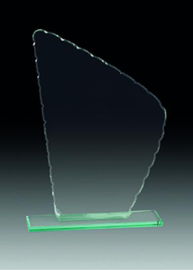 Trofeo Cristal Nansa 21x14 cm 19x13 cm 17x12 cm