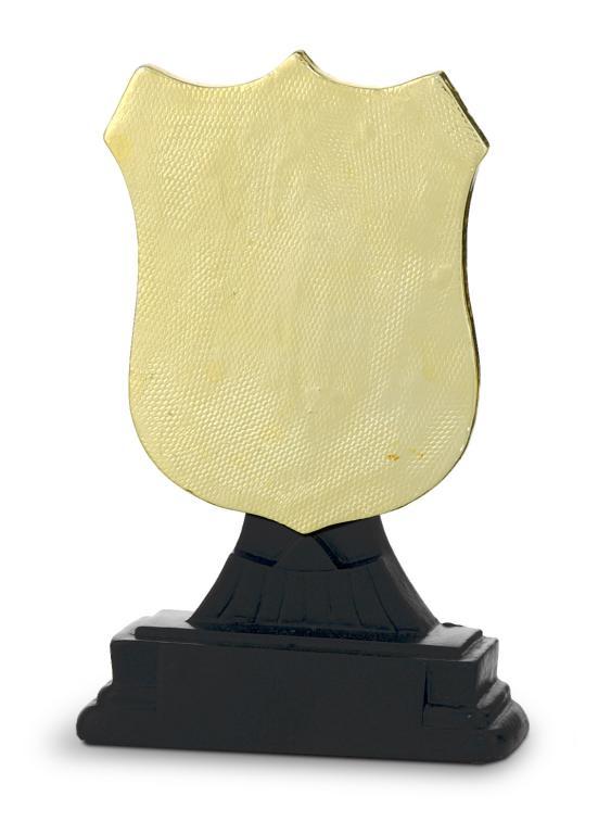 Trofeo Canace Escultura Oro Negro 13,5 cm