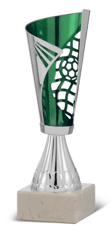 Copa Franjas Cibel Verde 22 cm 21 cm 19,5 cm