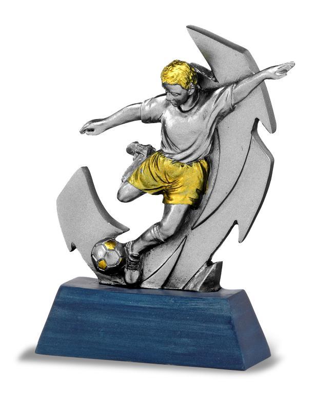 Trofeo Futbolista Chutando el balon 13.5