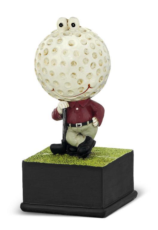 Trofeo muñeco de golf 16 cm