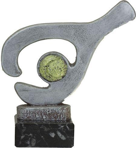 Trofeo modernista padel Plateado 17 cm 14 cm 11 cm