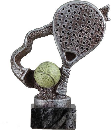 Trofeo raqueta de padel Plateado 17 cm 15 cm 12 cm