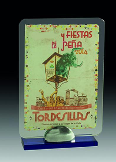Placa de Cristal Besaya 29x21 cm 24x18 cm 20x15 cm 18x13 cm 15x10 cm