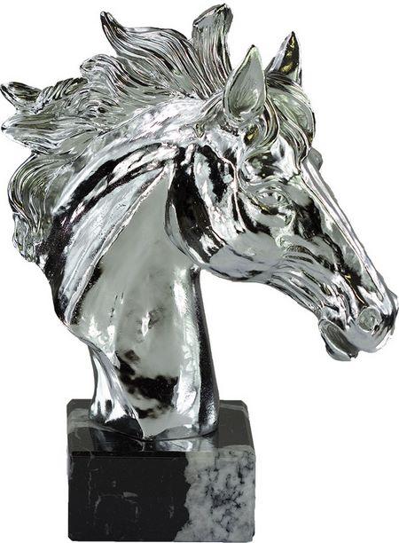 Trofeo hípica de caballo Plata 23 cm