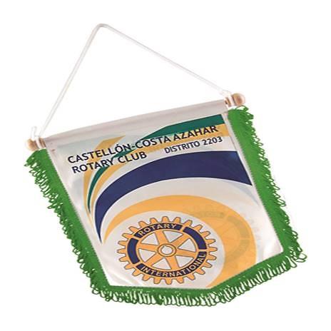 Banderines Abadín flecos