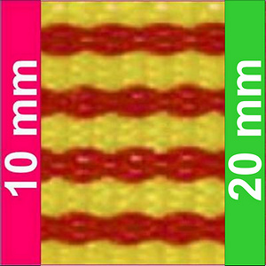 Cinta para medalla bandera cataluña.