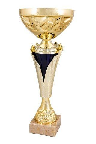 Copa Ascension en acabados combinados dorado y verde