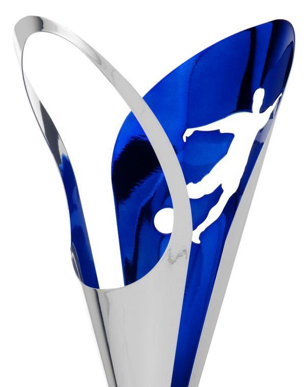 Copa Clavel de Campana Metalica Bicolor