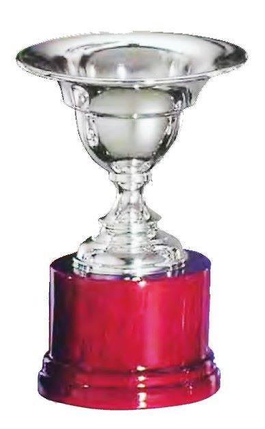 Copa Cordyline Borde Plateado Ancho