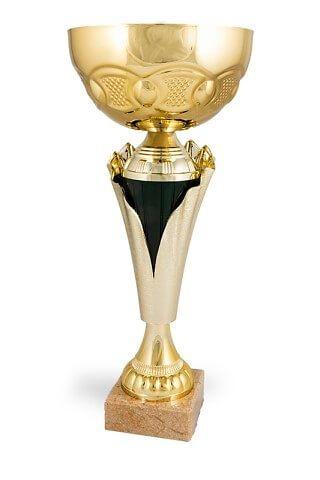 Copa Dorada y verde oscuro modelo Sitala