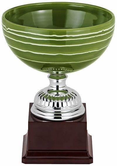 Copa Elaitor Verde Blanco Cerámica
