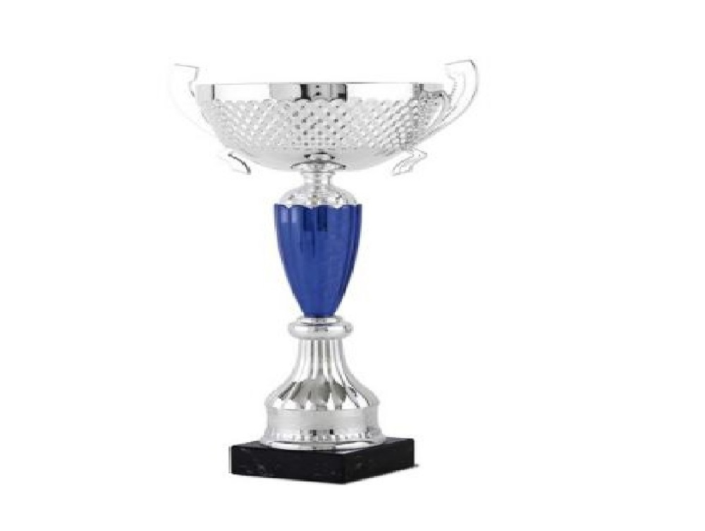 Copa Saltillo en acrílico metalizado con asas