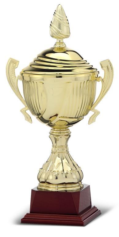 Copa dorada con asas clasica deluxe