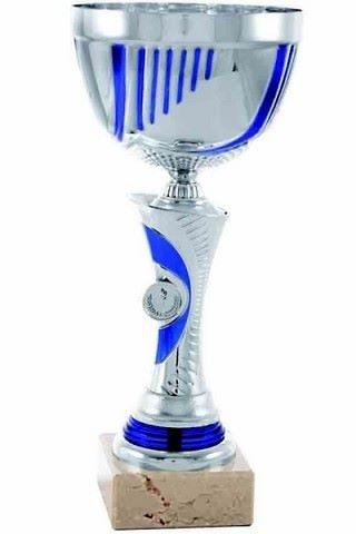 Copa en Azul y Plateados Cullera