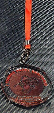 Medalla Deportiva Bosquimano Deportiva Cristal
