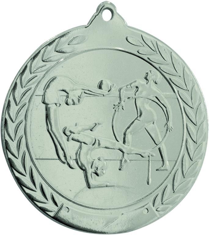 Medalla Deportiva de 50mm Ø para gimnasia