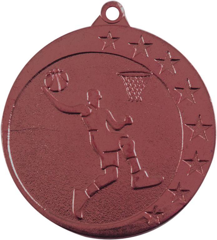 Medalla Monterroso metálica de 50mm Ø