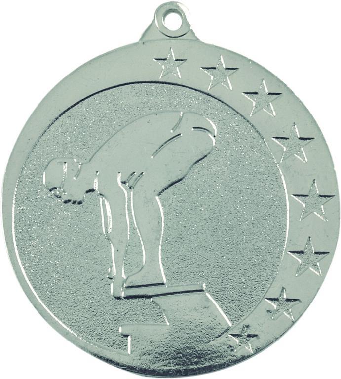 Medalla Muras metálica de 50mm Ø
