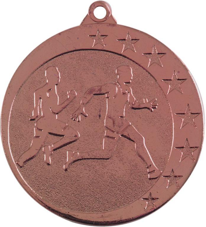 Medalla Navia metálica de 50mm Ø