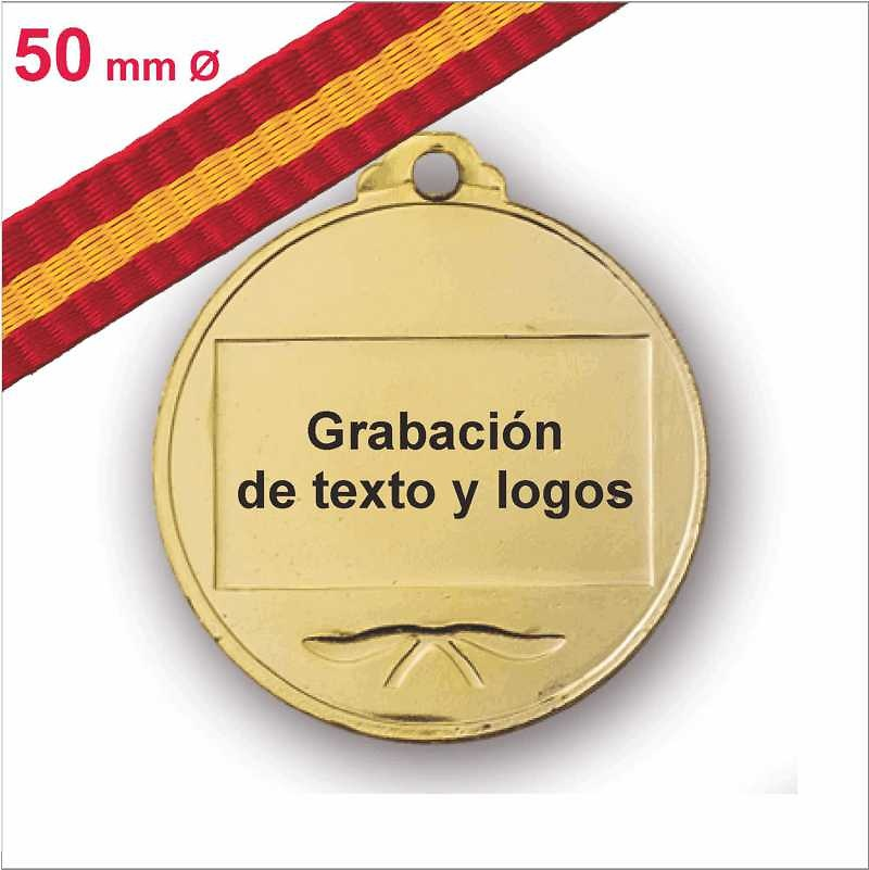 Medalla Trasera