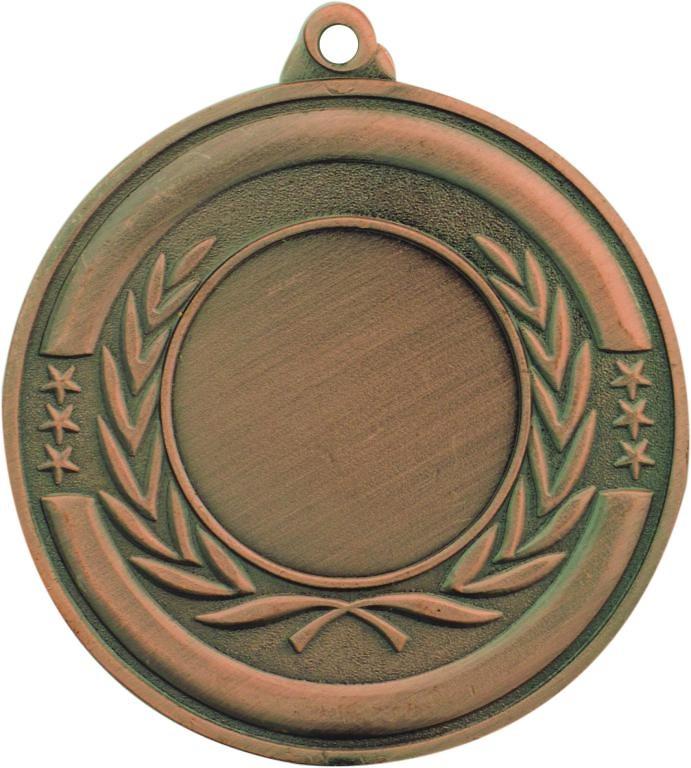 Medalla Ourol metálica de 50mm Ø