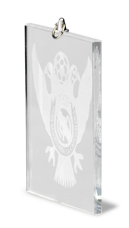Medalla de cristal rectangular para grabacion laser