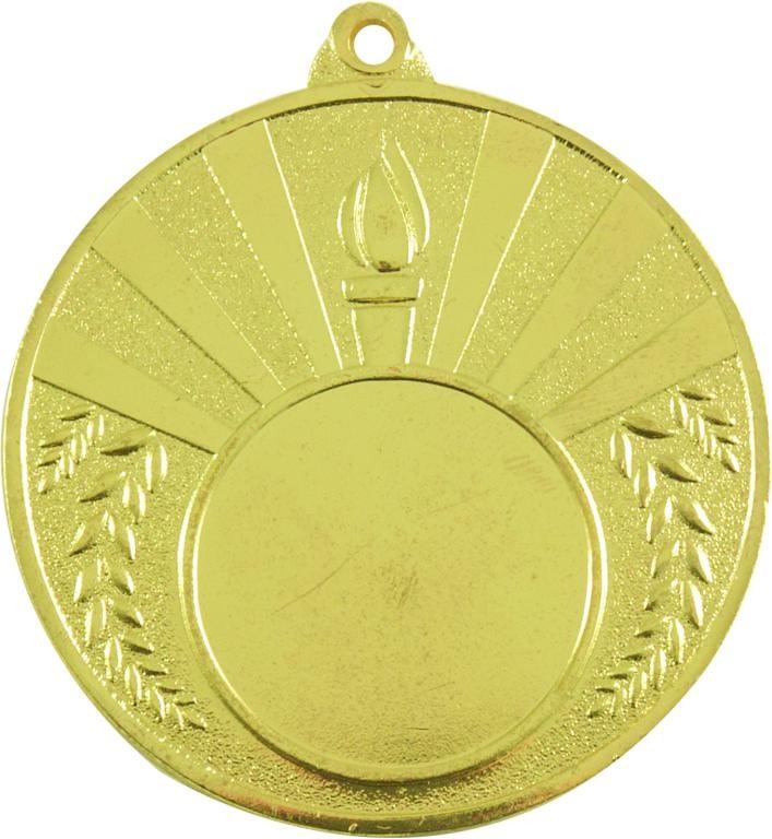Medalla deportiva llama olímpica