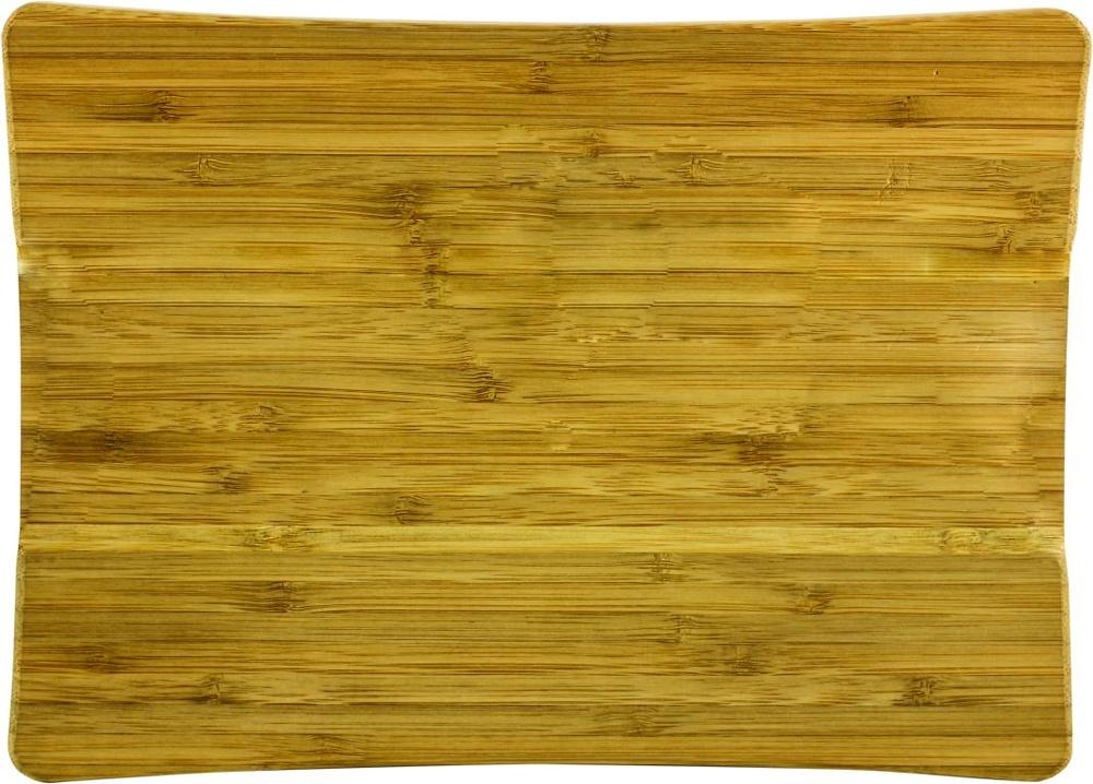 Soporte para placas de bamboo natural