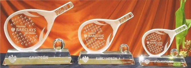 Trofeo Antefasy Pala Cristal