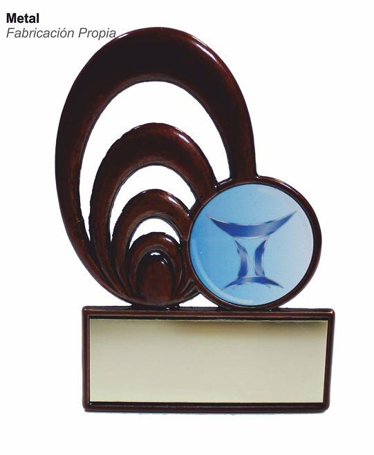 Trofeo Artec de metal